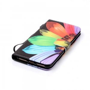 Sunflower Painted PU Phone Case for iPhone 7 Plus / 8 Plus -