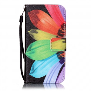 Sunflower Painted PU Phone Case for Iphone 7 / 8 -