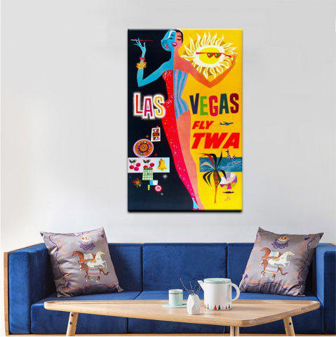 Chic YHHP Canvas Print Pop Art Poster Characters Wall Decor for Home Decoration