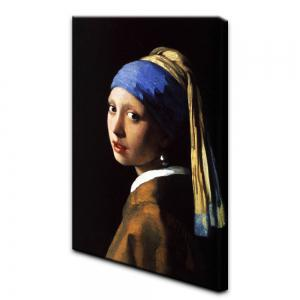 YHHP Canvas Print Girl with A Pearl Earring Renaissance Wall Decor for Home Decoration -