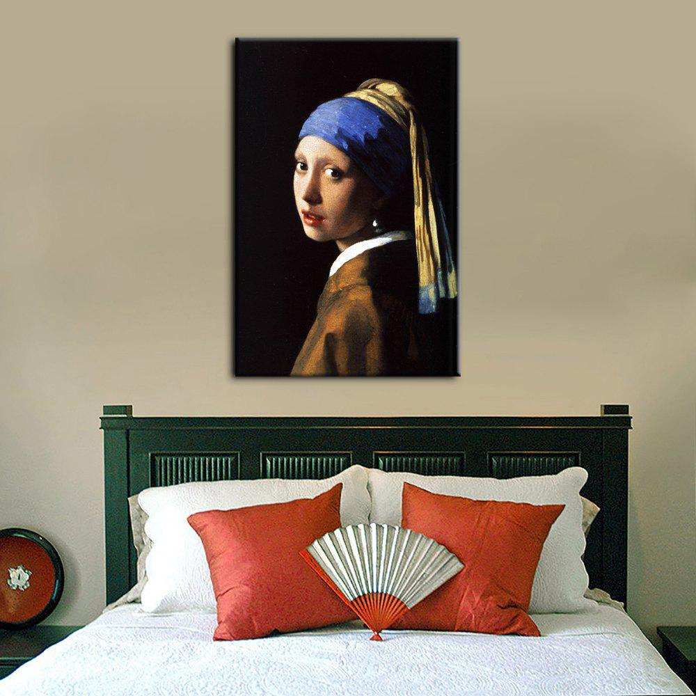 Outfit YHHP Canvas Print Girl with A Pearl Earring Renaissance Wall Decor for Home Decoration