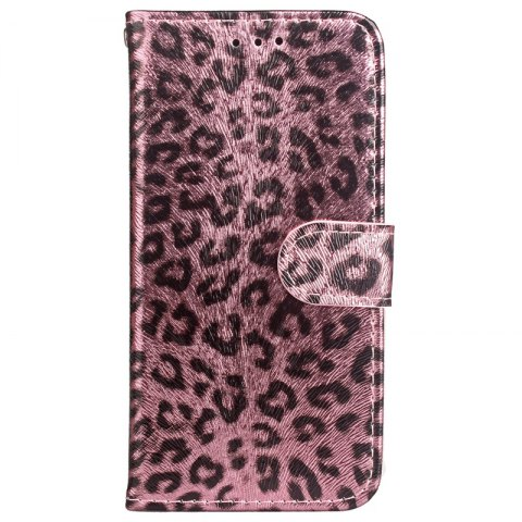 Leopard Print Card Lanyard Pu Leather для Samsung Note 8