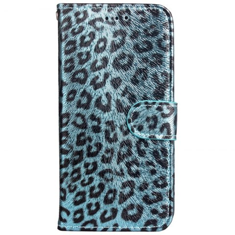 Best Leopard Print Card Lanyard Pu Leather for Samsung Note 8