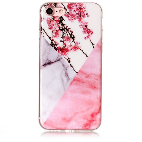 Latest Wkae TPU Material Color Marble Pattern Protection Shell for iPhone 7 / 8