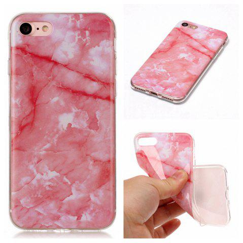 Chic Wkae TPU Material Color Marble Pattern Protection Shell for iPhone 7 / 8