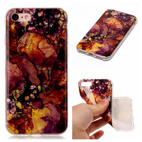Store Wkae TPU Material Color Marble Pattern Protection Shell for iPhone 7 / 8