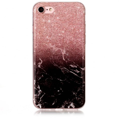 Outfit Wkae TPU Material Color Marble Pattern Protection Shell for iPhone 7 / 8