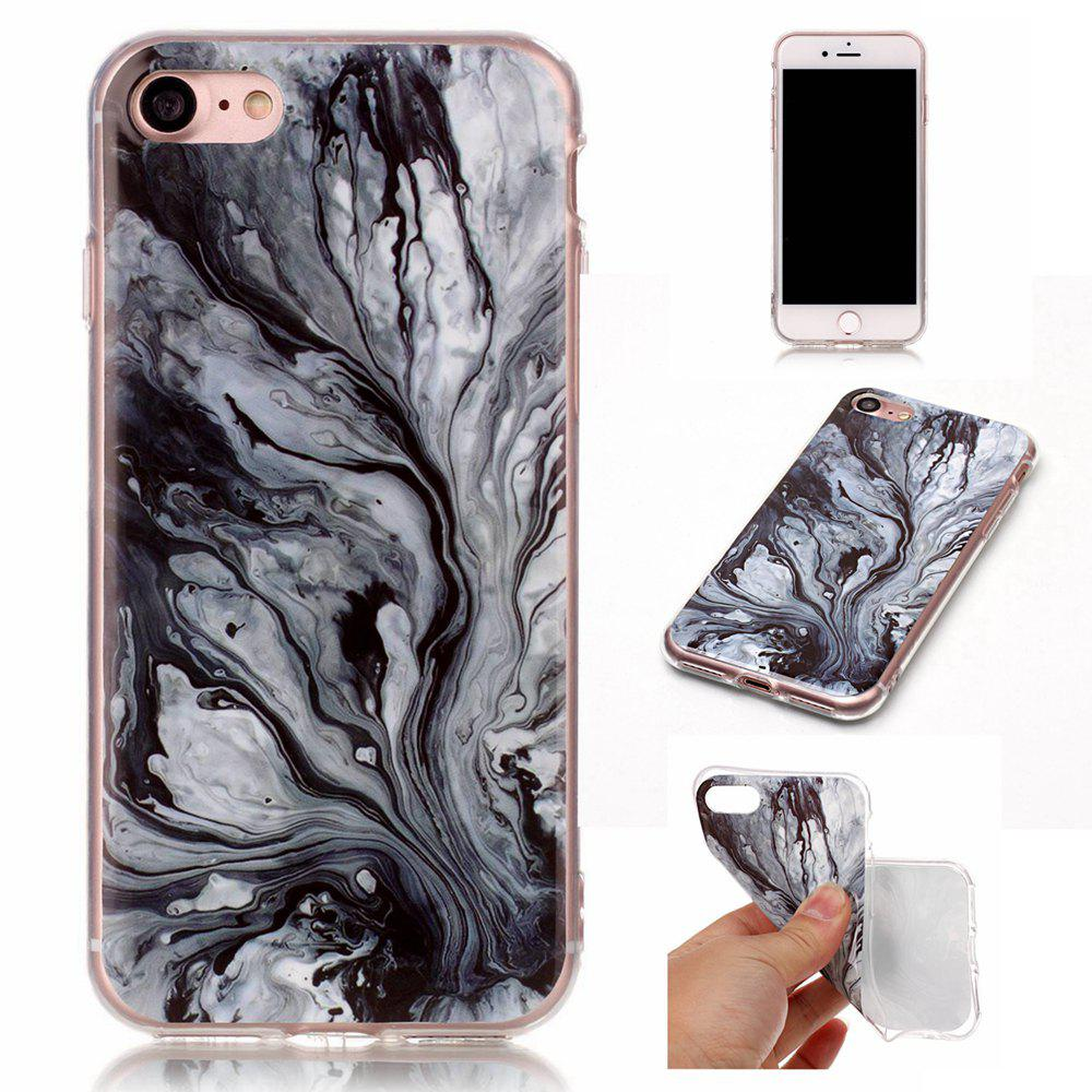 Shop Wkae TPU Material Color Marble Pattern Protection Shell for iPhone 7 / 8