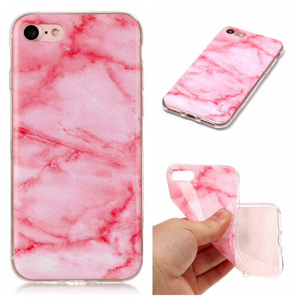 New Wkae TPU Material Color Marble Pattern Protection Shell for iPhone 7 / 8