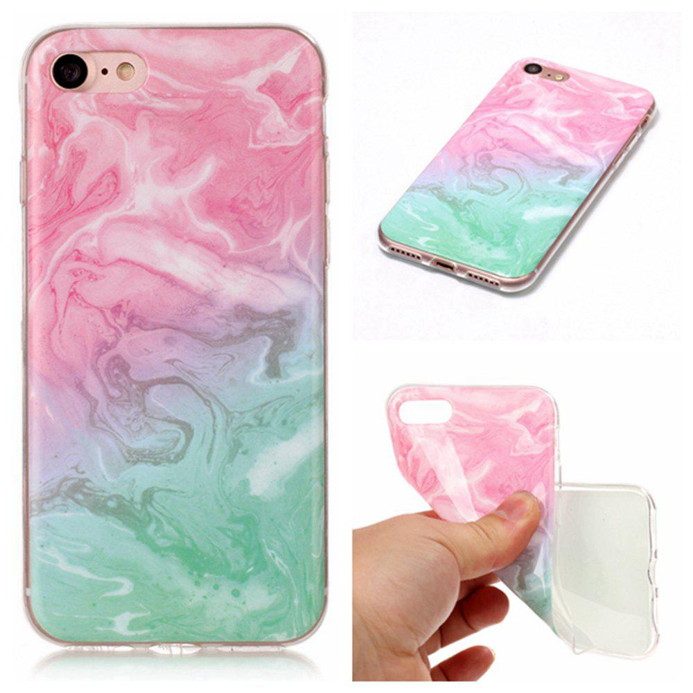 Best Wkae TPU Material Color Marble Pattern Protection Shell for iPhone 7 / 8