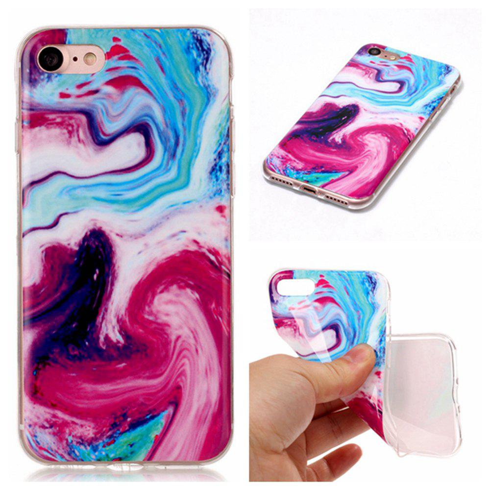 Hot Wkae TPU Material Color Marble Pattern Protection Shell for iPhone 7 / 8