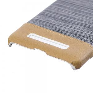 Wkae Jeans Canvas Leather Back Case Cover for Xiaomi Redmi 4A -