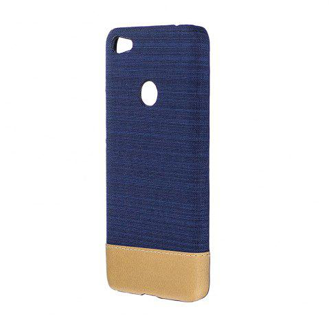 New Wkae Jeans Canvas Leather Back Case Cover for Xiaomi Redmi 4X