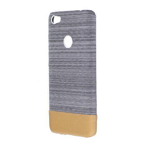 Chic Wkae Jeans Canvas Leather Back Case Cover for Xiaomi Redmi 4X