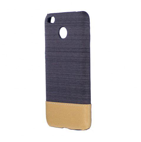 Online Wkae Jeans Canvas Leather Back Case Cover for Xiaomi Redmi Note 5A