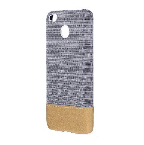 Cheap Wkae Jeans Canvas Leather Back Case Cover for Xiaomi Redmi Note 5A