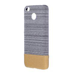 Wkae Jeans Canvas Leather Back Case Cover for Xiaomi Redmi Note 5A -