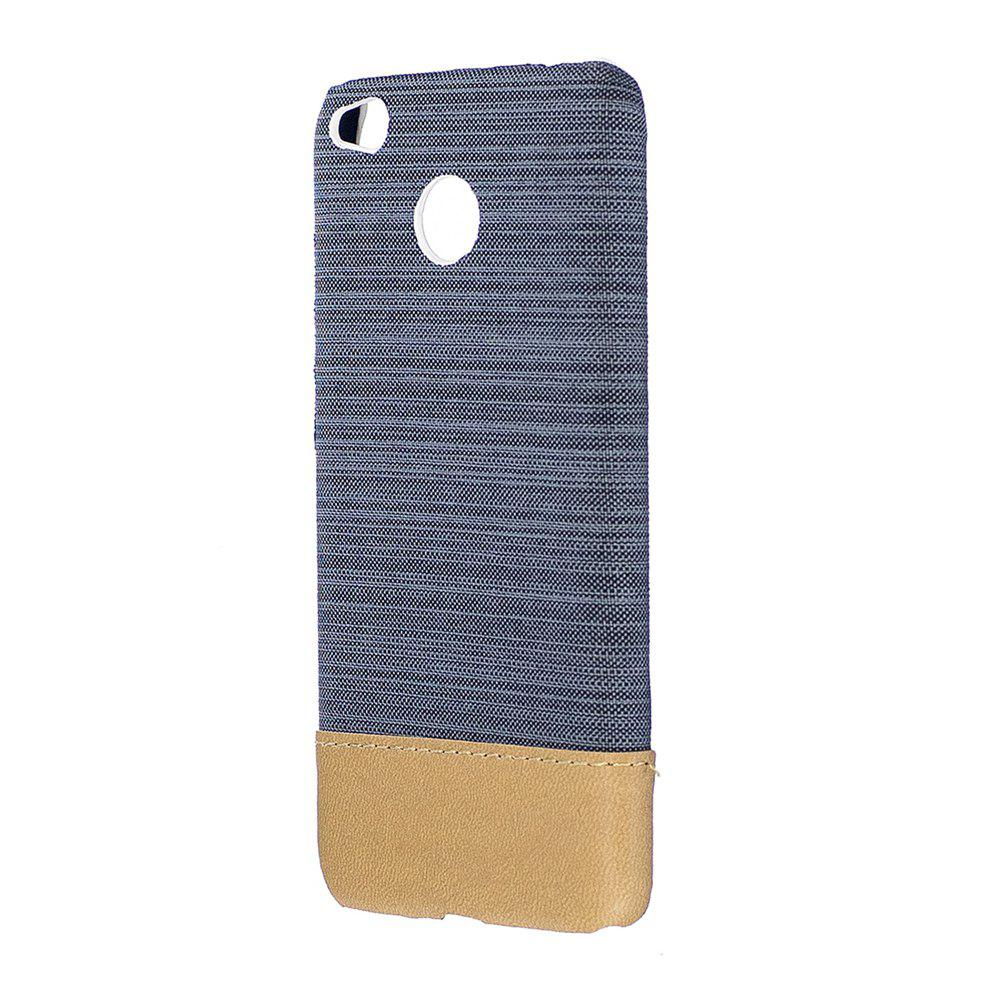 Store Wkae Jeans Canvas Leather Back Case Cover for Xiaomi Redmi Note 5A