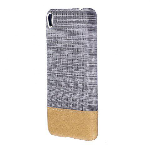 Affordable Wkae Jeans Canvas Leather Back Case Cover for Asus ZenFone 3 Go Live ZB501KL