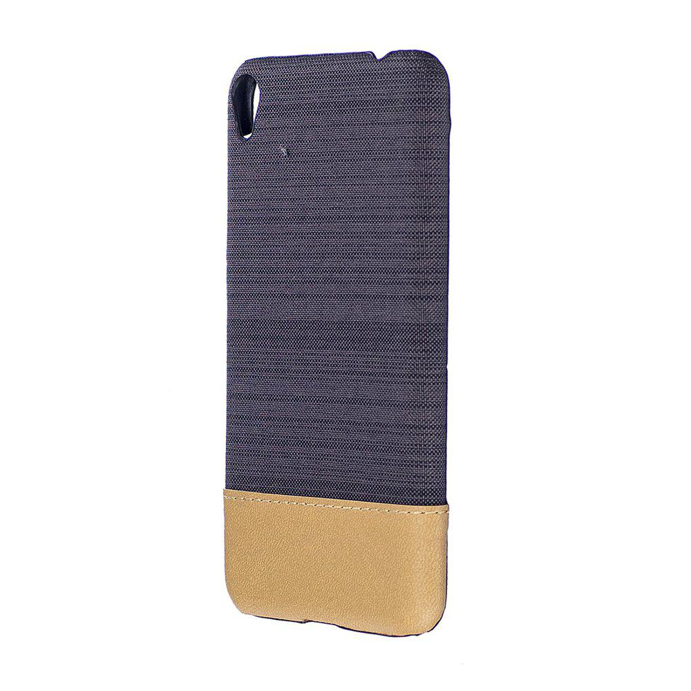 Fashion Wkae Jeans Canvas Leather Back Case Cover for Asus ZenFone 3 Go Live ZB501KL