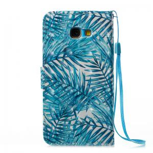 Wkae 3D Stereo Painted Leather Case for Samsung Galaxy A5 2017 -