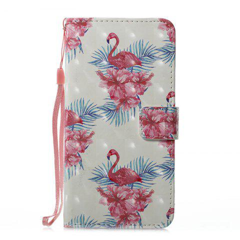 Shops Wkae 3D Effect Painted Leather Case Cover for Samsung Galaxy J710