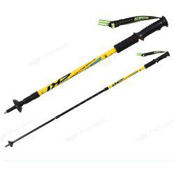 Trekking Poles Folding-Collapsible Hiking Poles Walking Stick -