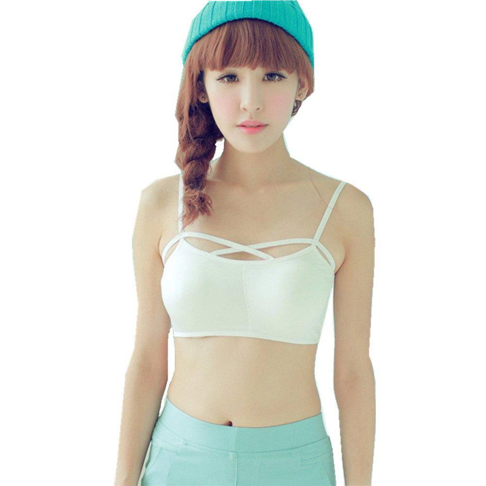 efbf274af1 Fancy Hot Sale Simple Tube Tops Romantic Sexy Padded Bra Lingerie for Fashion  Girls