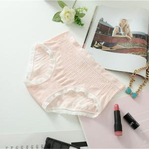 2017 Comfortable Colorful Cotton Women Briefs Fashion Lines Design for Sexy Girls -