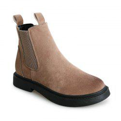 New Winter England Wind Flat Bottomed Students Martin Boots Wedgie -