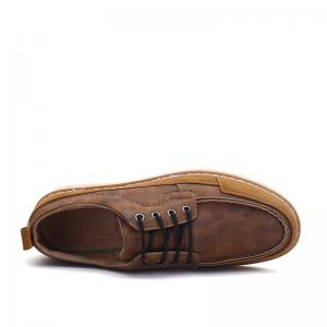 Men Casual Fashion Flat  Suede Office Lace-Up Shoes Size 39-44 -