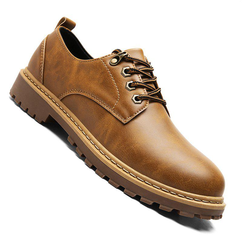 Shops Men Casual Fashion Business Leather Shoes Size 39-44