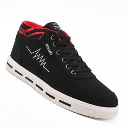 Men Casual Fashion Outdoor Lace-Up Flat Shoes Size 39-44 -