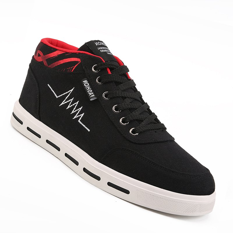 Discount Men Casual Fashion Outdoor Lace-Up Flat Shoes Size 39-44