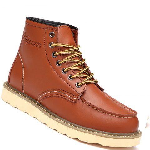 Affordable Men Shoes High Top Fashion Sneakers British Office Shoes