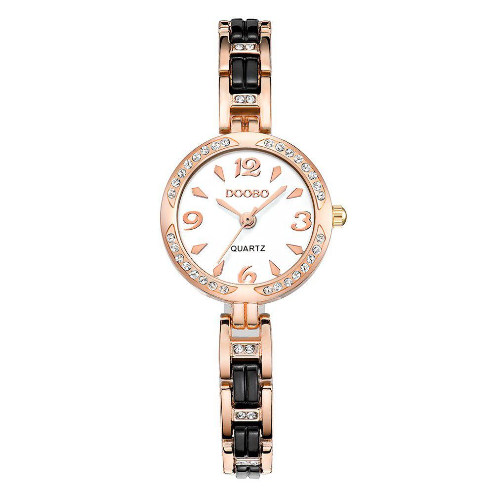 Shops DOOBO D006 4741 Women Trend Steel Band Quartz Watch