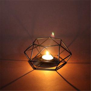 Creative Iron Art Wedding Romantic Candlestick Lamp Holder -