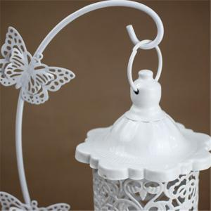 Creative Iron Butterfly Hook Candle Holder -