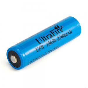 UltraFire 18650 3.7V Actual Capacity of 2200MAH Rechargeable Lithium Battery 2 Groups -