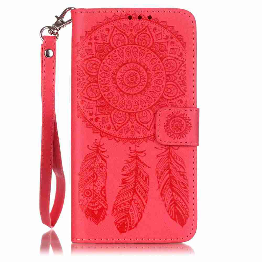 New Embossing Campanula PU Phone Case for Samsung Galaxy   Grand Prime G530