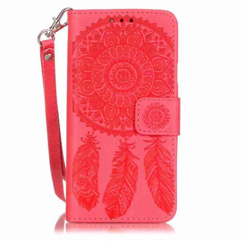 Best Embossing Campanula PU Phone Case for Samsung Galaxy  A3 2016