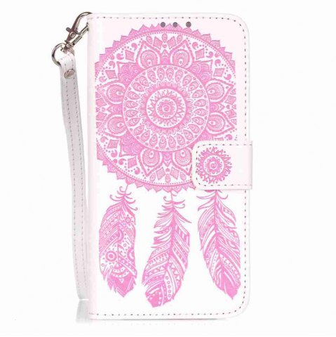 Chic Embossing Campanula PU Phone Case for LG G5