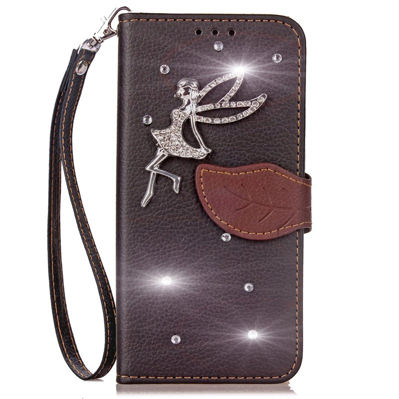 Store Leaf Stick Drill Card Lanyard Pu Leather for Xiaomi 5X