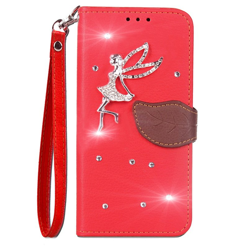 Discount Leaf Stick Drill Card Lanyard Pu Leather for Xiaomi 5X