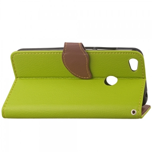 Leaf Card Lanyard Pu Leather for Redmi Note 5A -