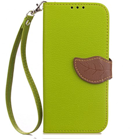 Best Leaf Card Lanyard Pu Leather for Redmi Note 5A