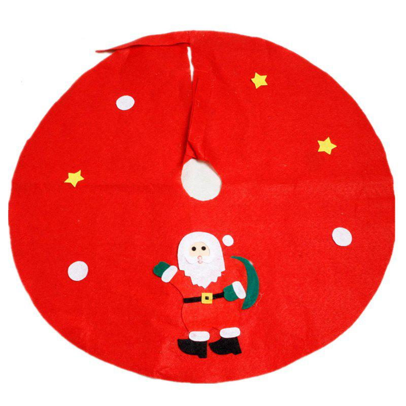 XM Christmas Tree Apron Decoration Diameter 90CM Random Style 1pcHOME<br><br>Color: RED; Brand: XM; Material: Nonwoven; For: Others; Usage: Christmas; Package Quantity: 1; Color: Others;