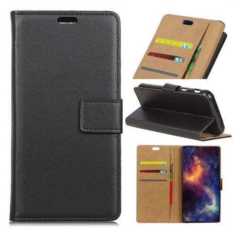 Trendy Wkae Solid Color Slim Pattern PU Leather Wallet Stand Case for Huawei Honor 6S / 6C