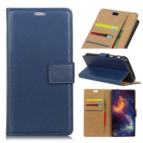 Shops Wkae Solid Color Slim Pattern PU Leather Wallet Stand Case for Huawei Honor 6S / 6C