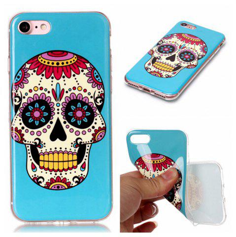 Sale Wkae TPU Material Color Pattern Protection Shell for IPhone 7 / 8